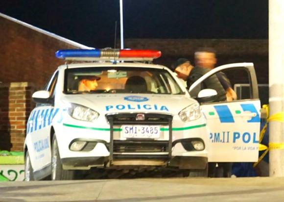La Policía de Canelones detuvo al brasileño, después de una labor coordinada entre Interpol y la Brigada Antidrogas. Foto: Ricardo Figueredo