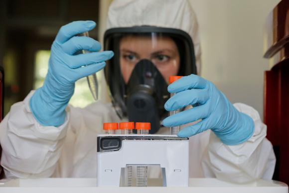 """Rusia anunció la """"primera"""" vacuna contra el coronavirus. Foto: Reuters."""