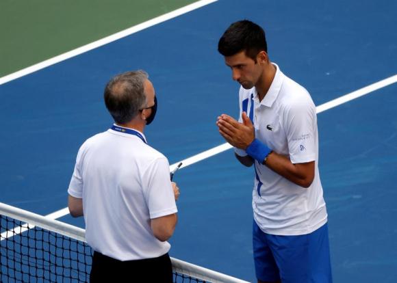 """Extremadamente arrepentido"""": el mensaje de Djokovic tras ser descalificado  del US Open - Ovación - 06/09/2020 - EL PAÍS Uruguay"""