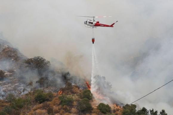 Incendios en Estados Unidos. Foto: Reuters.
