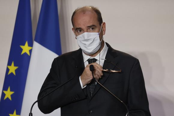 Primer ministro francés, Jean Castex. Foto: AFP