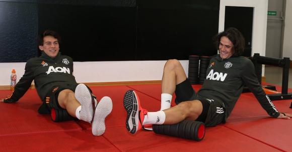 Por fin! Edinson Cavani empezó los entrenamientos con Manchester United -  Ovación - 18/10/2020 - EL PAÍS Uruguay