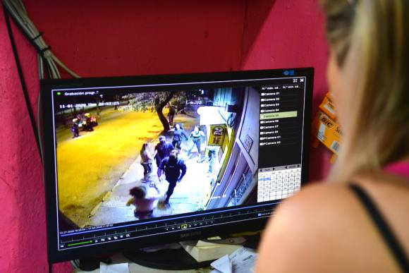 Incidentes en Plaza Seregni. Foto: Francisco Flores