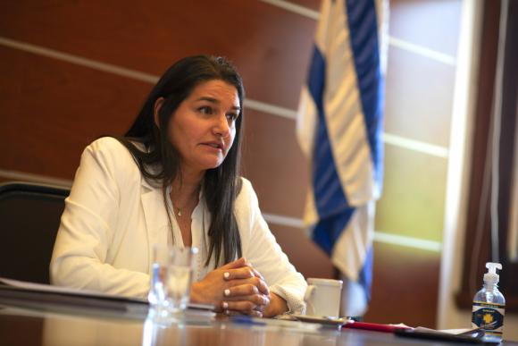 Marcela Bensión, coordinador de Política Económica del Ministerio de Economía y Finanzas. Foto: Leonardo Mainé