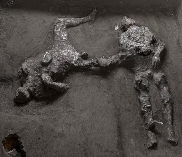 Descubrimiento en Pompeya. Foto: Parque Arqueológico de Pompeya