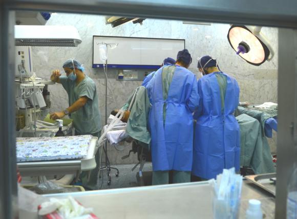 Quirófano, sala de operaciones. Foto: Gerardo Pérez