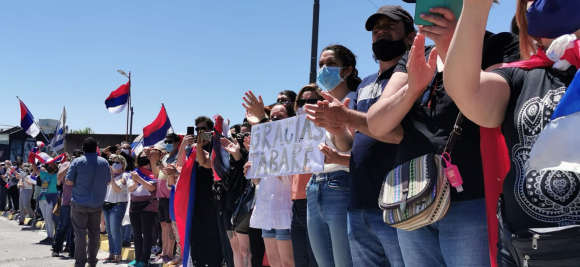 5fcd10777cbff - Así transcurrió el multitudinario último adiós a Tabaré Vázquez