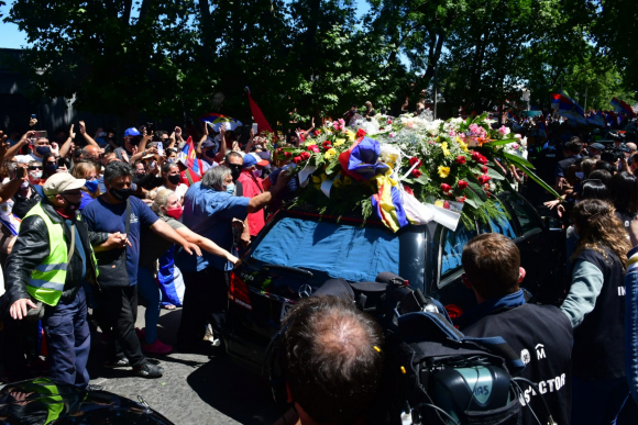 5fcd133f459bd - Así transcurrió el multitudinario último adiós a Tabaré Vázquez