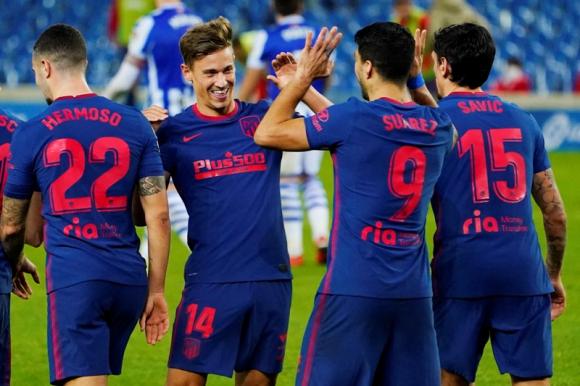 Real Sociedad 0 - Atlético de Madrid 2: el líder tuvo a Luis Suárez jugando  87 minutos - Ovación - 22/12/2020 - EL PAÍS Uruguay