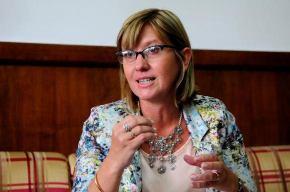 Cristina Lustemberg. Foto: archivo El País.