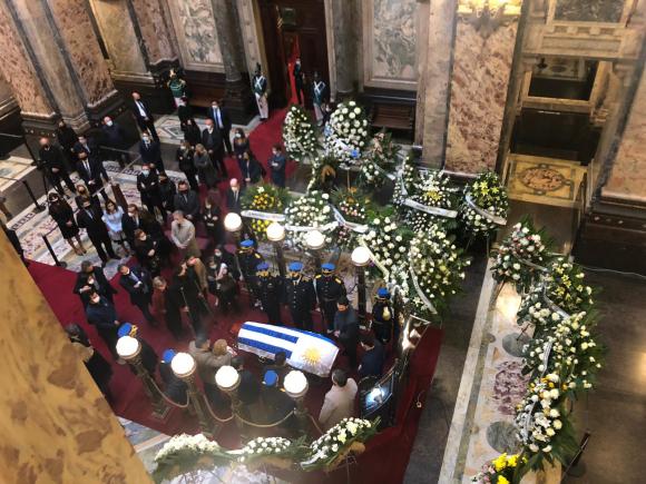 60aa464ca1186 - El adiós a Larrañaga: velatorio en Palacio Legislativo y despedida en sede del Partido Nacional