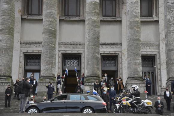 60aa4d482758c - El adiós a Larrañaga: velatorio en Palacio Legislativo y despedida en sede del Partido Nacional