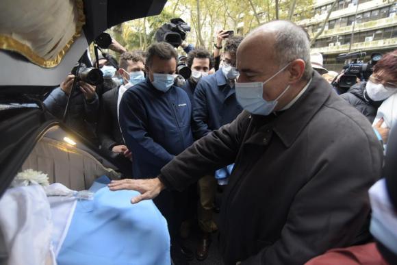 60aa7cb275cc3 - El adiós a Larrañaga: velatorio en Palacio Legislativo y despedida en sede del Partido Nacional