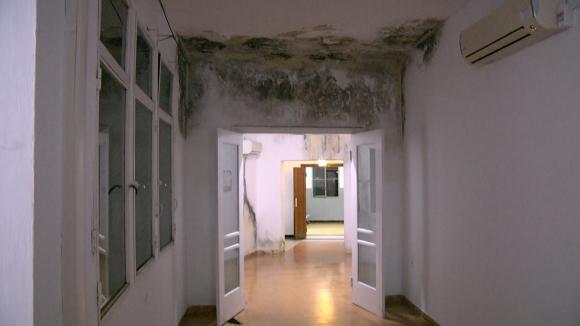 Por riesgo de derrumbe del techo cerrarán policlínico del centro auxiliar de Batlle y Ordóñez