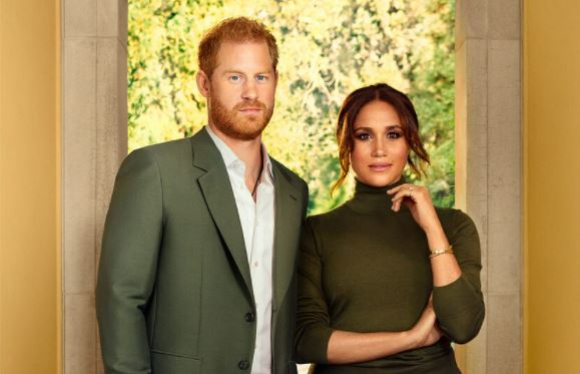meghan markle and prince harry in time magazine