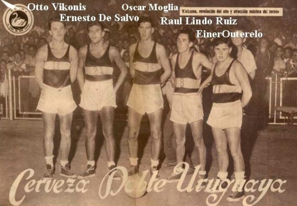 L'équipe de bienvenue championne du fédéral en 1953.