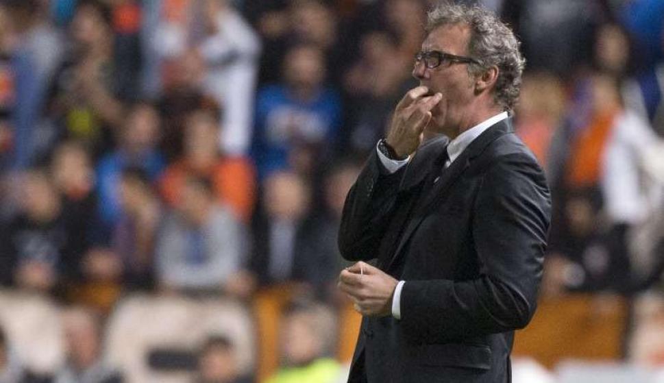 Laurent Blanc, director técnico del Paris Saint Germain. Foto: AFP.