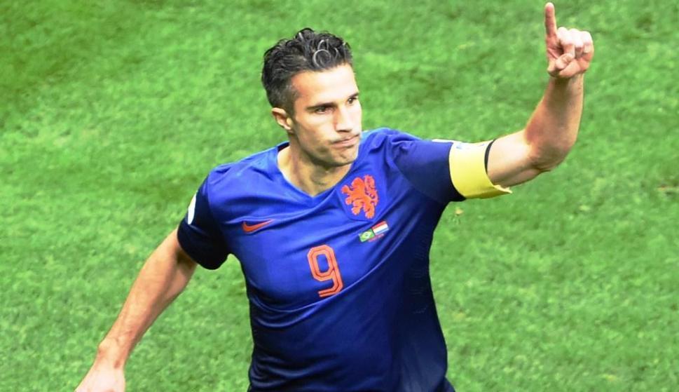 Van Persie con Holanda