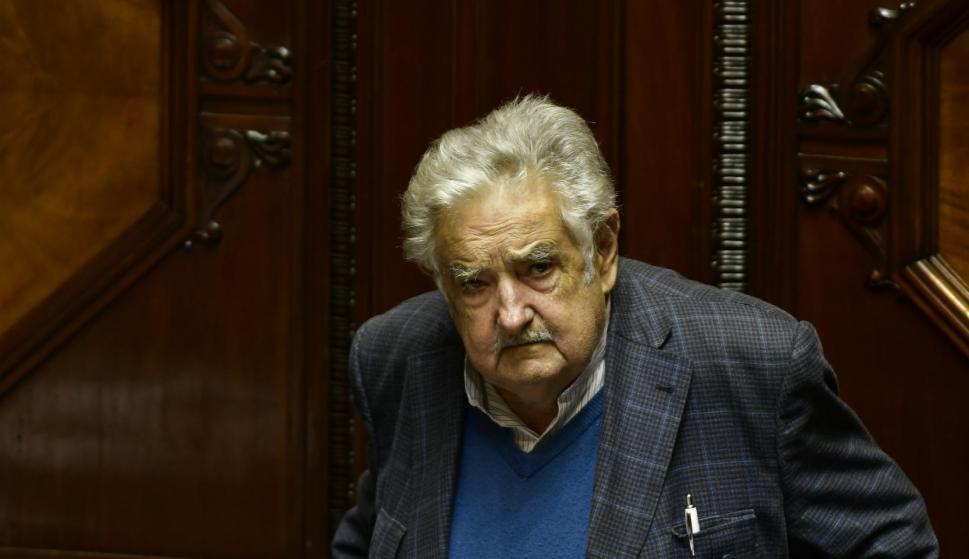 José Mujica en el parlamento. Foto: Fernando Ponzetto.