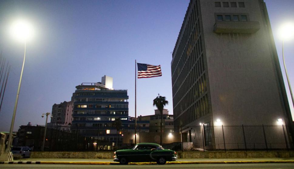 Embajada de Estados Unidos en Cuba. Foto: Reuters.