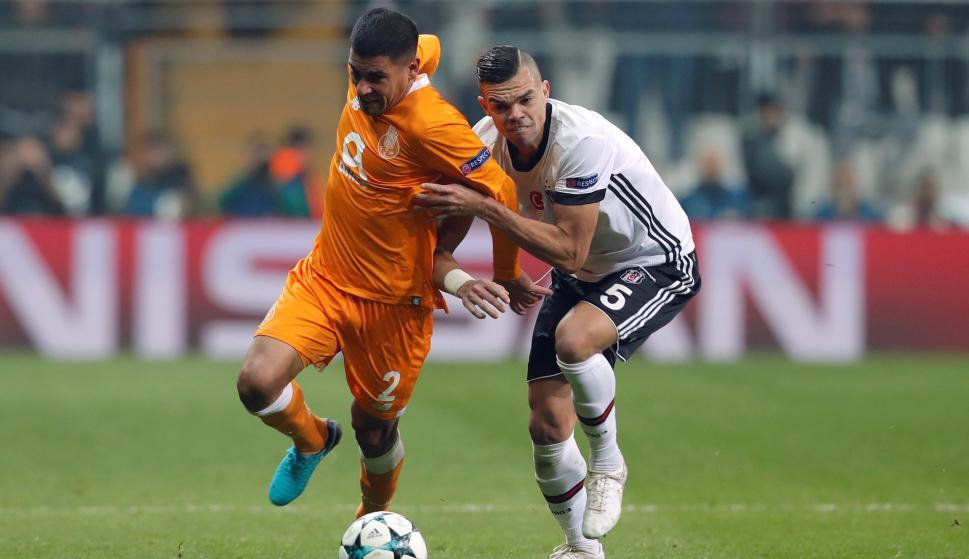 Besiktas se metió en octavos de final de la Liga de Campeones
