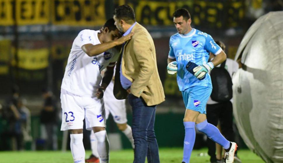 Ramos y el abrazo a Polenta.