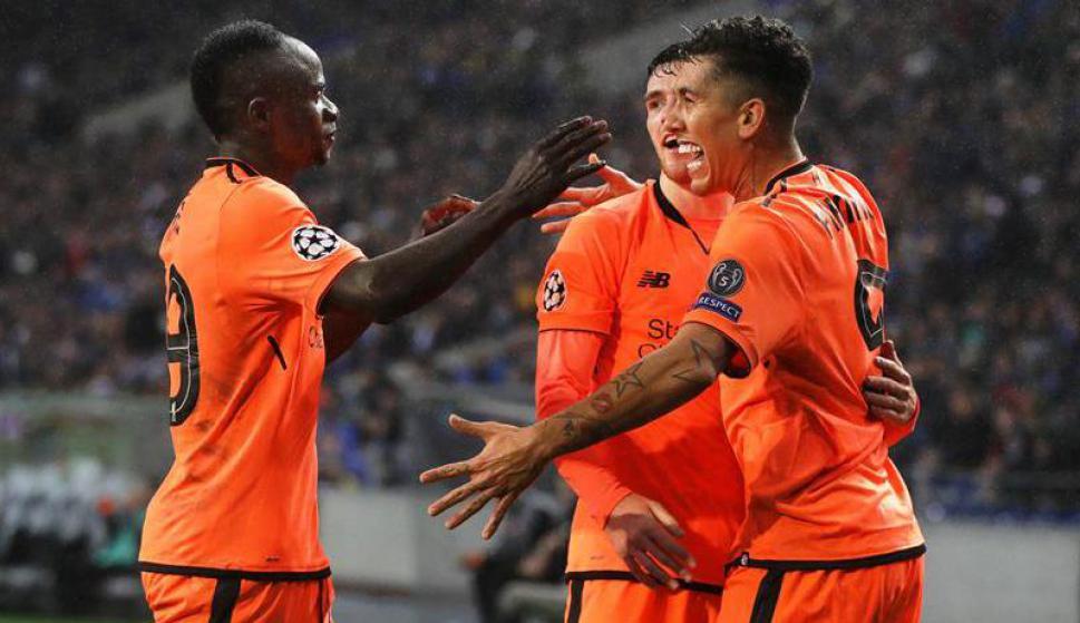 El Liverpool goleó en su visita a Oporto. Foto: EFE