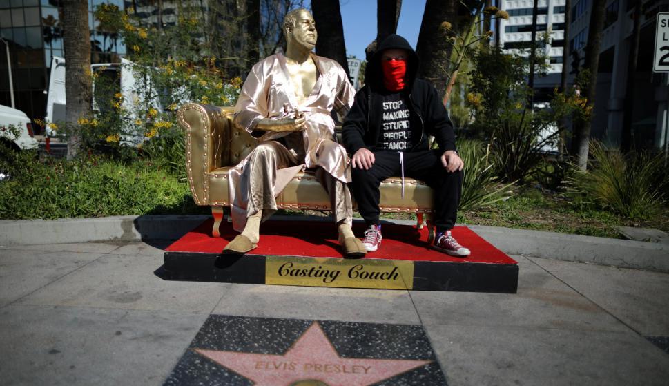 Estatua de Harvey Weinstein