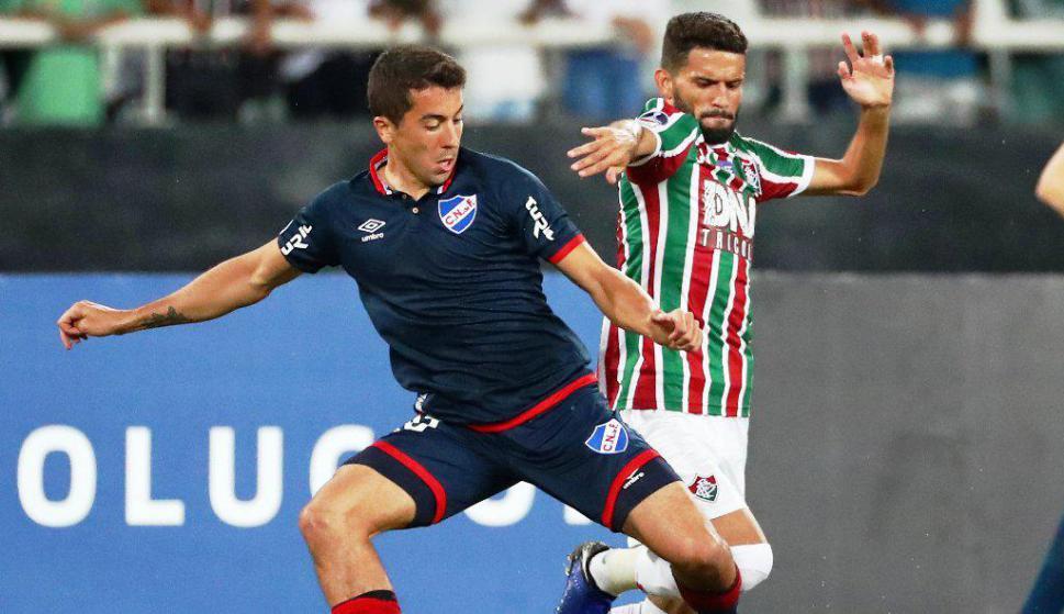 Fluminense vs. Nacional. Foto: Reuters