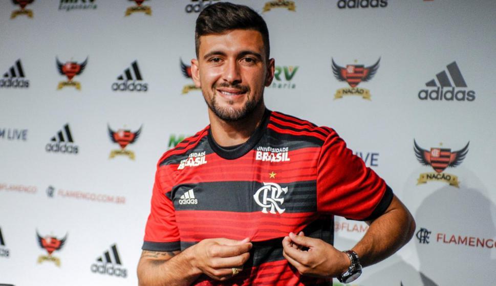 Giorgian De Arrascaeta en Flamengo