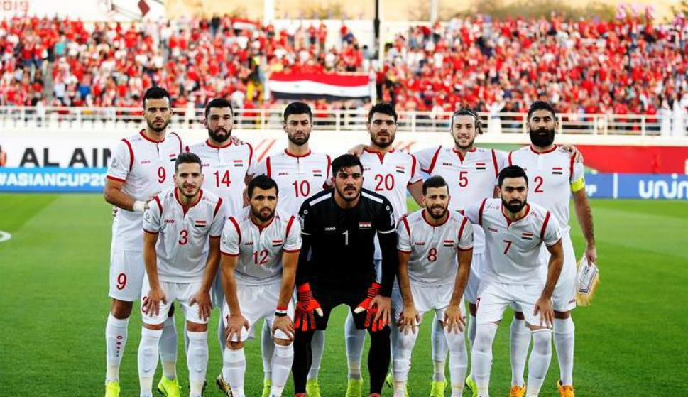 Selección de Siria. Foto: EFE