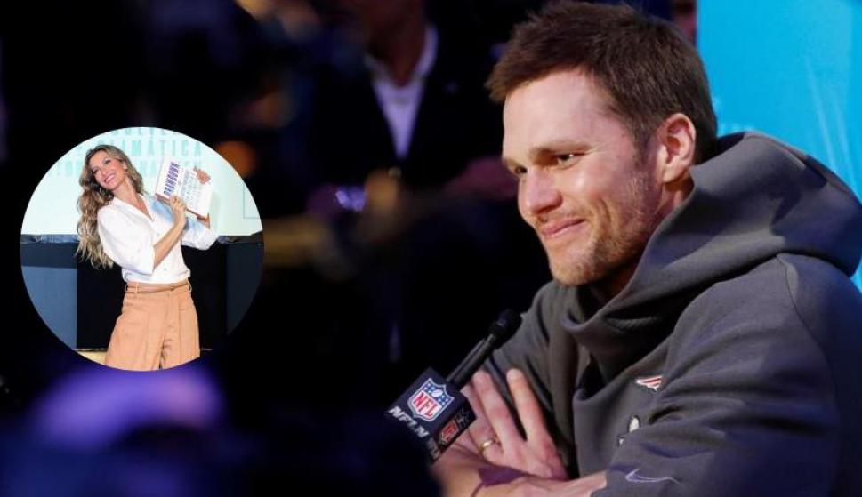 Gisele Bündchen y Tom Brady. Fotos: @giseleofficial y EFE