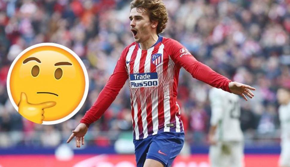 Atlético de Madrid relaciona a Griezmann con uno de los nuevos emojis. Foto: @AtletiFR