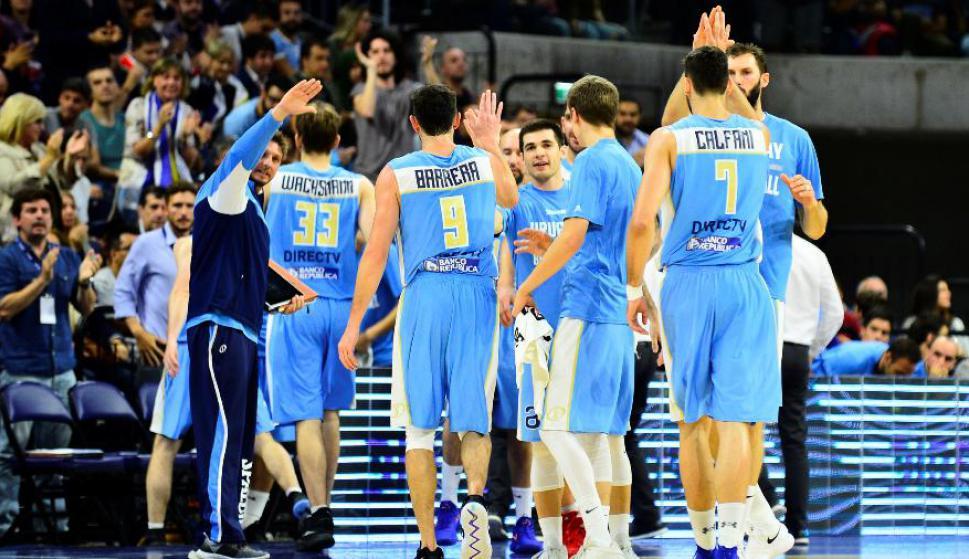 Uruguay en las Eliminatorias rumbo al Mundial de China 2019. Foto: Gerardo Pérez.