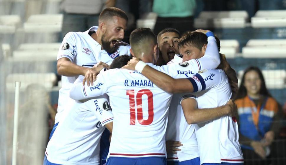 Nacional en el gol de Gonzalo Bergessio