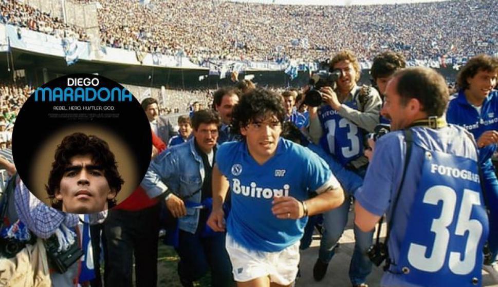 Se estrenará un documental de Diego Maradona. Fotos: Altitude Films