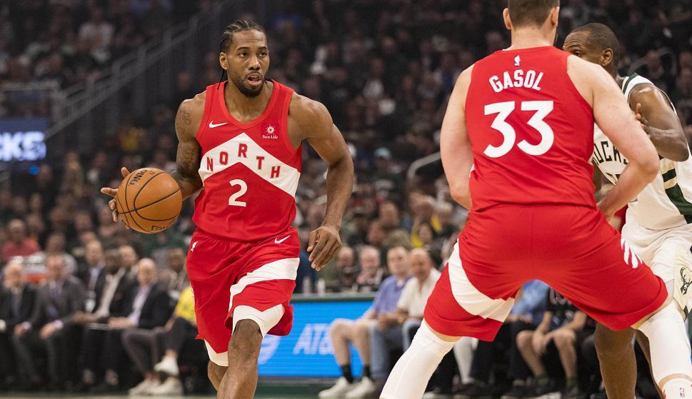 Kawhi Leonard en Toronto Raptors