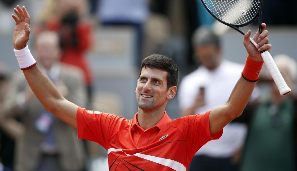 Novak Djokovic. Foto: EFE.
