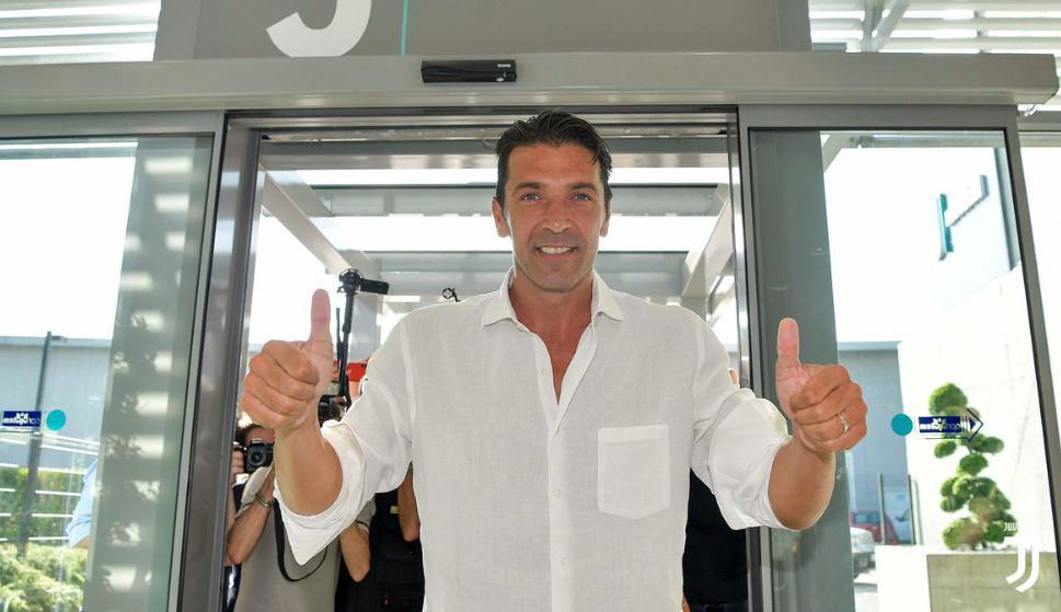 Gianluigi Buffon superó las pruebas médicas de la Juventus