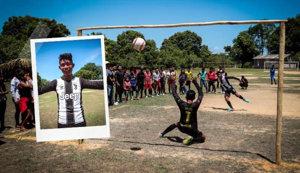 La Champions League de la Amazonía, un balón de oxígeno en medio del fuego. Fotos: EFE