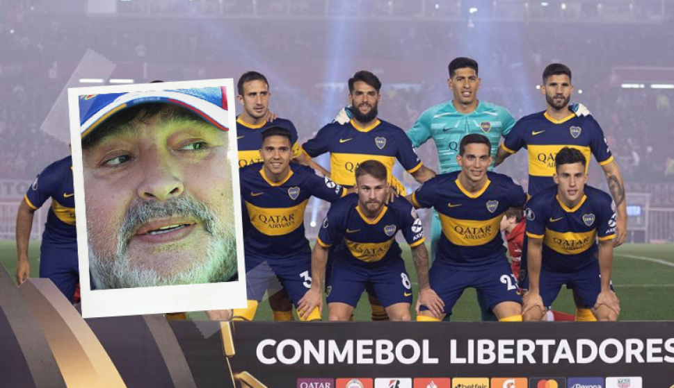 Diego Maradona, Carlos Tevez y la motivación: la estrategia de Boca para dar vuelta la serie de Libertadores. Foto: EFE