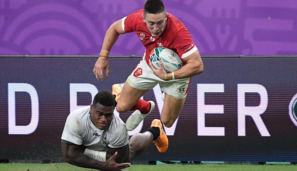 """Gales terminó como primero del Grupo """"D"""" y será rival de Francia en cuartos de final del Mundial. Foto: AFP."""