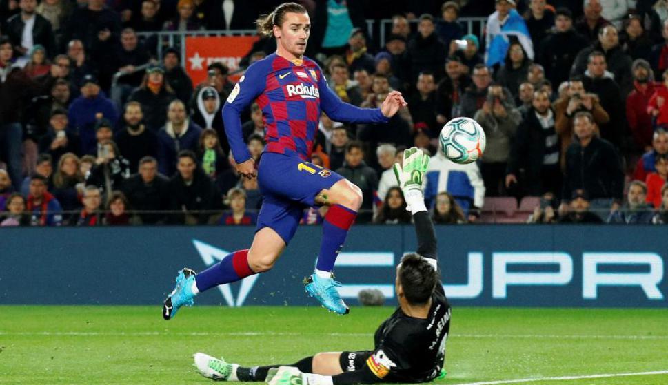 Antoine Griezmann en Barcelona vs. Mallorca