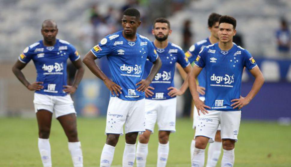 Cruzeiro descendió a la Segunda División de Brasil. Foto: Reuters.