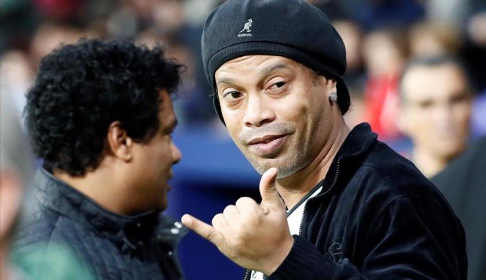 """Ronaldinho en entrevista para Panenka: """"No cambié la historia del Barça"""". Foto: EFE"""