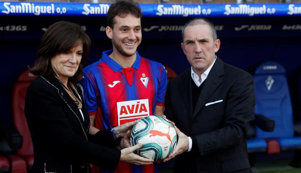 Sebastián Cristóforo vuelve a jugar en España: lo hará en el Eibar. Foto: EFE