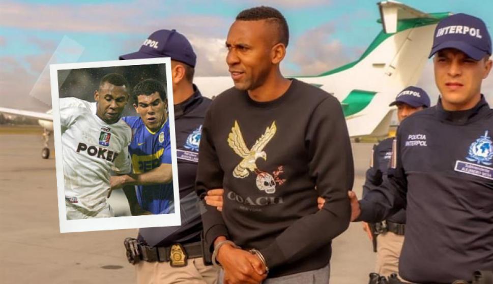 Le ganó una Libertadores a Boca Juniors y ahora es extraditado por narcotráfico. Fotos: Goal y EFE