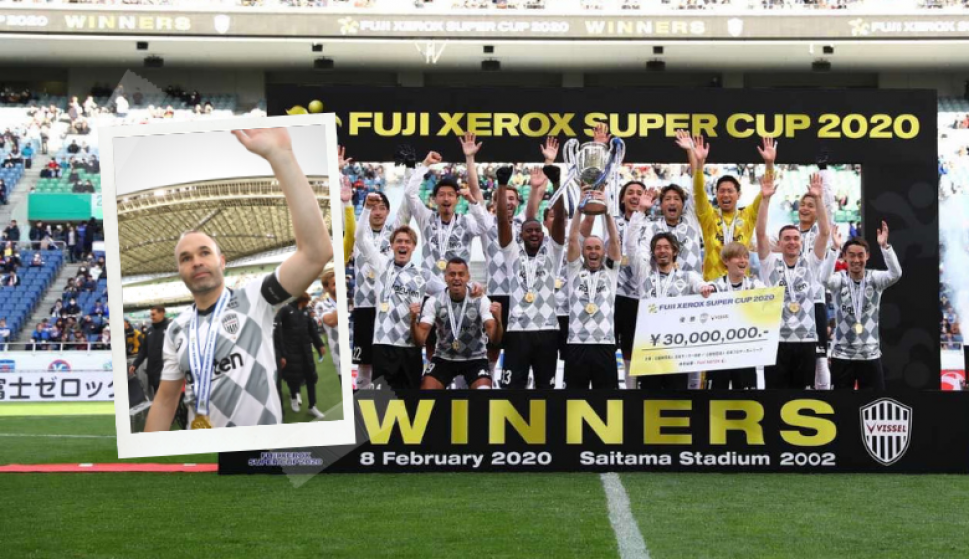 ¿Se pueden errar tantos penales?, así salió campeón el equipo de Iniesta. Fotos: Vissel Kobe (Twitter)