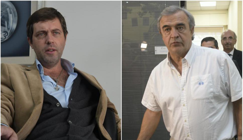 Ignacio Alonso y Jorge Larrañaga