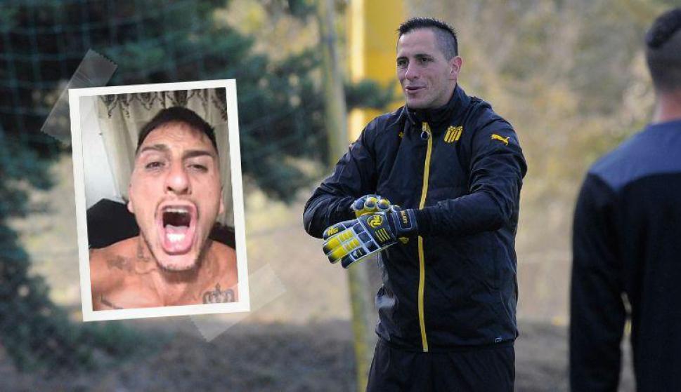¡Enloqueció! Así se descargó Pablo Migliore tras el campeonato de Boca Juniors. Fotos: Captura y Archivo El País